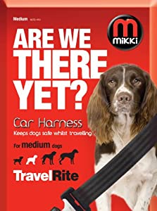 Mikki Travel & Household Car Harness Keeps Dogs Safe Whilst Travelling Medium from Interpet