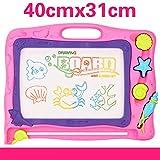 S+S S + Pizarra mágica S Borrador Magnético Bar Tabla de Dibujo para niños, Ocean-Powder