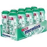 Mentos Chewing-gum Pure Fresh - Goût de menthe verte (Lot de 10)