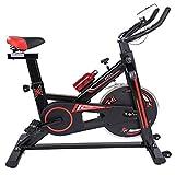Chengzuoqing Cyclette Coperta Mute Trainer Bicicletta Computer ed ellittica avanzata con Allenamento Cross Trainer Cyclette Allenatore di Aerobica Ideale