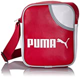 PUMA Umhängetasche Campus Portable, ribbon red-white-white, 18 x 21 x 6 cm, 2 liters, 071375 06