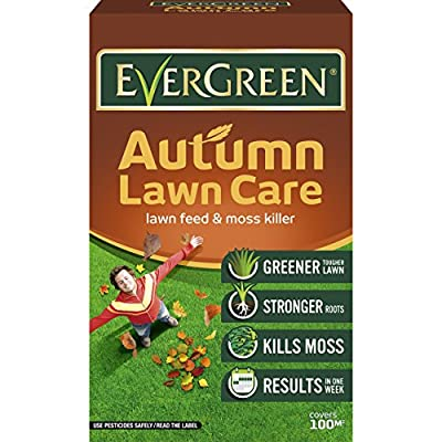 Evergreen 010014 3.5 kg Autumn Lawn Care Spreader