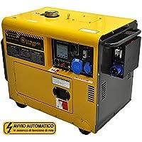 Stromerzeuger 4,5 kilowatt mit ATS (AUTOMATISCHER NETZUMSCHALTER) - Stromaggregat