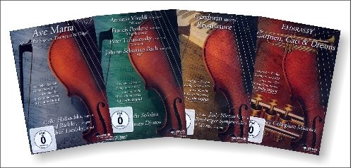4 DVDs Klassik Megapack 5.1 Dolby Digital - enthält: Gershwin meets Renaissance + Ave Maria (Werke...