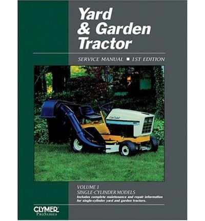 [(Yard and Garden Tractor Service Manual * *)] [Author: Intertec Publishing] published on (September, 1992) -