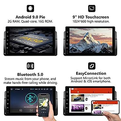 eonon-GA9350B-Android-9-fit-BMW-3-E46-1999-2004-Indash-Auto-Digital-Audio-Video-Stereo-Autoradio-229-cm-LCD-Touchscreen-GPS-Navigationsgert-Bluetooth-FM-AM-RDS-USB-WiFi-OBD2-4G-Headunit-NO-DVD