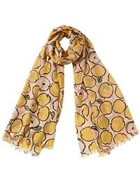 Alberotanza Unisex - Erwachsene Schal, Summer Stole - Apple