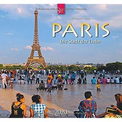 Paris - Die Stadt der Liebe 2020: Mittelformat-Kalender