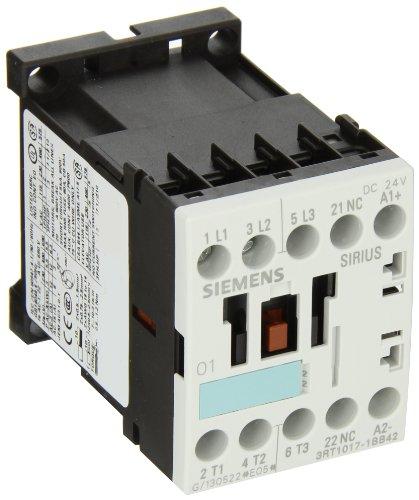 Siemens Schütz 400V 1NC 24V 3Polig Größe S00Verbindung Schraube -