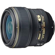 Nikon AF-S Nikkor 35mm f/1.4G - Objetivo (SLR, 10/7, Automático/Manual, Nikon, Negro, 8,3 cm)