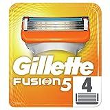 Gillette Fusion Lamette per Rasoio da Uomo, 4 Pezzi