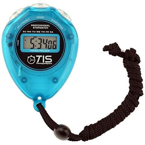 TIS Pro 018 Cronometro - Grande Bilancia Quadrante - Disponibilità Di 3 Colori - Blu, One Size