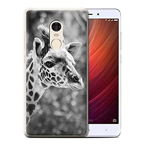 Coque de Stuff4 / Coque pour Xiaomi Redmi Note 4 / Girafe Design / Animaux de zoo Collection