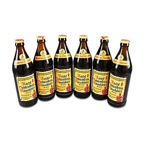 Aecht Schlenkerla Rauchbier (6 Flaschen à 0,5 l / 5,1 % vol.) inc.0.48€ MEHRWEG Pfand