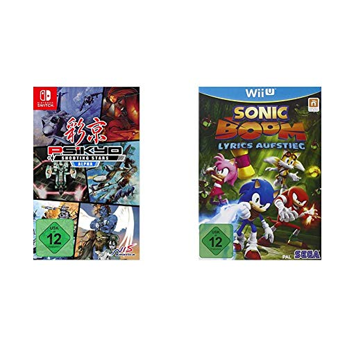 Psikyo Shooting Stars Alpha Limited Edition (Switch) & Sonic Boom - Lyrics Aufstieg