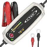 CTEK MXS 5.0  Chargeur de Batterie Entièrement Automatique (Charge, Maintient et Reconditionne les Batteries Auto et Moto) 12V, 5 Amp - Prise EU