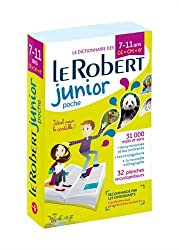 Le Robert Junior Poche: Paperback non illustrated version of the Robert Junior Dictionary (Les Dictionnaires Scolaires)