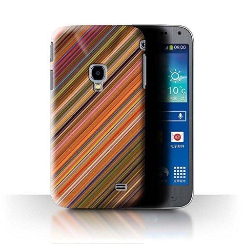 Stuff4® Hülle/Case für Samsung Galaxy Beam 2/G3858 / Diagonales Muster Muster/Herbst Mode Kollektion Diagonal Beam