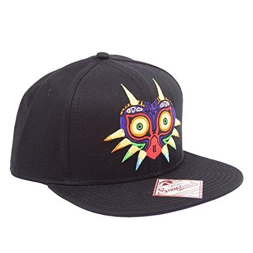 Zelda Cap Majora's Mask Baseball Cap Nintendo Schirmmütze Flat Bill Snapback Kappe