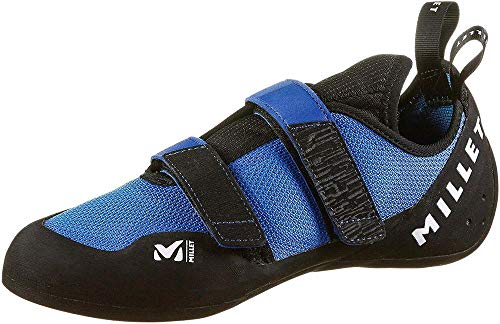 MILLET Unisex-Erwachsene Easy Up Knit Kletterschuhe, Blau (Electric Blue 000), 49 1/3 EU