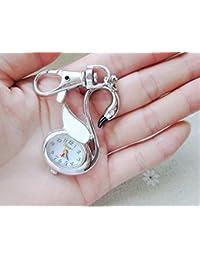ShopyStore 2016 New Quartz Pocket Watch Animal Shaped Pendant Watch Key Chain Unisex Gift New Popula