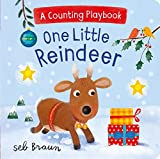 One Little Reindeer (A Counting Playbook)
