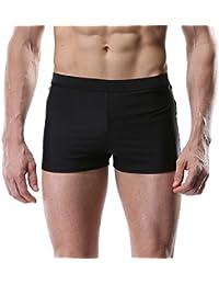 d453dca581 CharmLeaks Mens Swimming Shorts Sports Swim Boxer Trunks Swimwear Swimsuit  Bottom