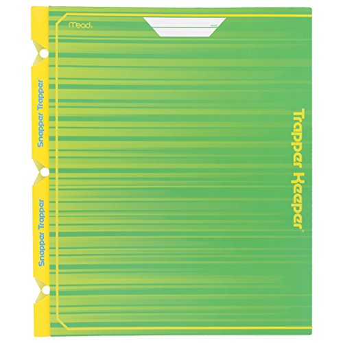 mead-trapper-keeper-snapper-trapper-2-pocket-portfolio-with-prongs-green