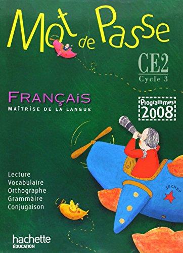 Français, CE2, cycle 3 : Livre de lélÚve