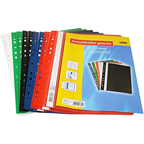 Idena 307862 Binders A4 Plastic with Punched