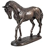 Cold Cast Bronze Horse Nobility by Harriet Glen by Arrow-Lane-Gifts