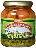 Thüringer Landgarten Demeter Bio Erbsen mit Möhrchen, 350 g