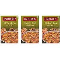 Everest Kitchen Rey Masala - 100 gramos (Pack de 3)