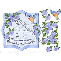 Amico Verse Telaio di fissaggio 8x 8, di Margaret Jones