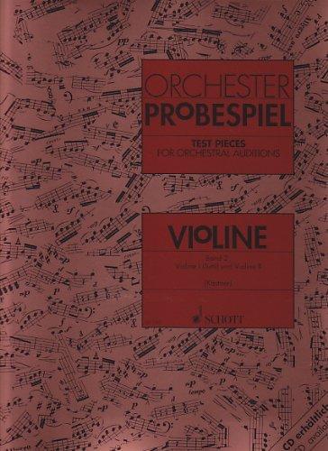SCHOTT ORCHESTER-PROBESPIEL VOL. 2 - VIO...