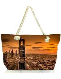 Snoogg Soul Of The City Women Anchor Messenger Handbag Shoulder Bag Lady Tote Beach Bags Blue