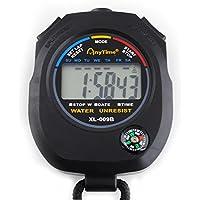 Cronómetro Digital Multifuncional con Brújula + Correa #445