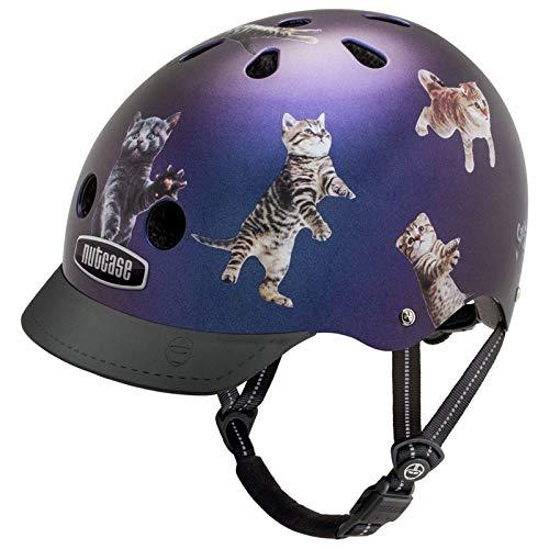 Nutcase Street Helmet Kinder Space Cats Kopfumfang M | 56-60cm 2019 Fahrradhelm