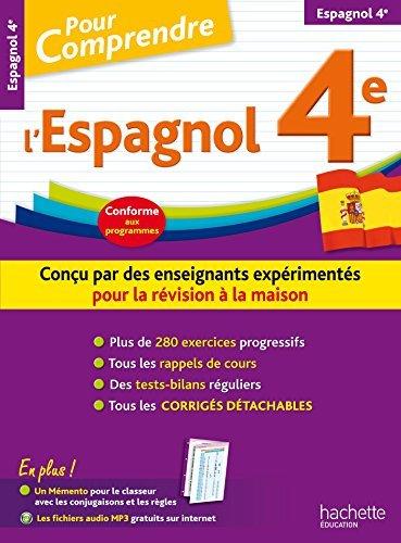 Pour Comprendre Espagnol 4E by Marie Ange Richiero (2015-07-01)