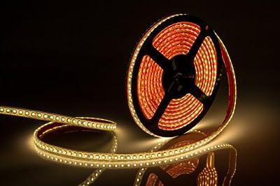LED Streifen Strip Band (5m) RTW2-5000SE 24V 48W Warm (3528 - 600 LED) wasserdicht von randLIGHT bei Lampenhans.de