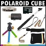 Polaroid KIT ESENCIAL Deluxe para la cámara de acción Polaroid Cube. Gran paquete complementario