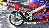 Max Torque Cans Kawasaki Poliert Edelstahl Pro Race Motorrad Auspuff Kann kaw-zx6r-g-j-a1p-1998–2002-s-gpr-