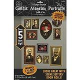 Wanddeko Gemälde 2 x 85 x 165 cm Gothic Portraits Halloween Dekoration Horror Deko Wanddekoration
