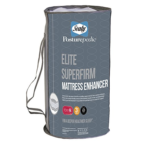 sealy-posturepedic-elite-strato-supplementare-per-materasso-587-bianco-matrimoniale-super-king-182-2