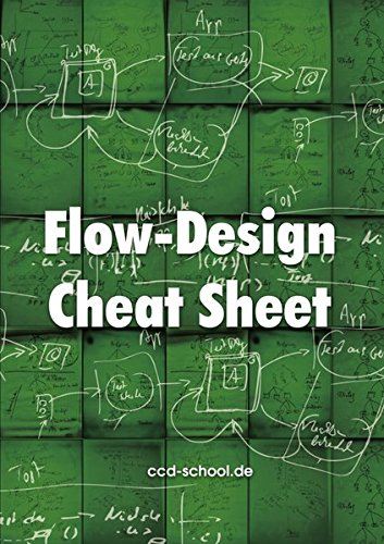Flow-Design Cheat Sheet - Broschüre Design-software