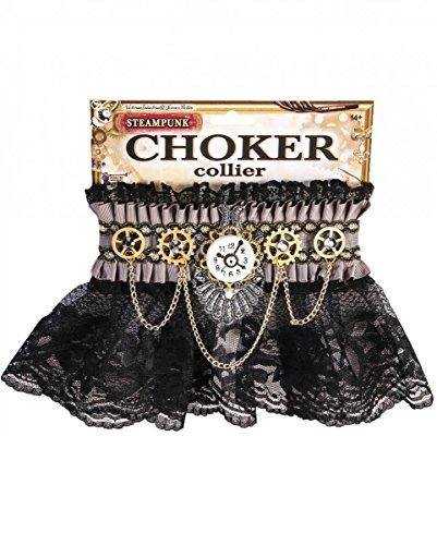 Preisvergleich Produktbild Steampunk Collier Gothic Kropfband