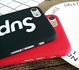 Supreme iPhone 7 Coque en noir