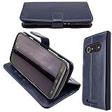 caseroxx Hülle/Tasche Bookstyle-Case Doro 8040/8042 Handy-Tasche, Wallet-Case Klapptasche in blau