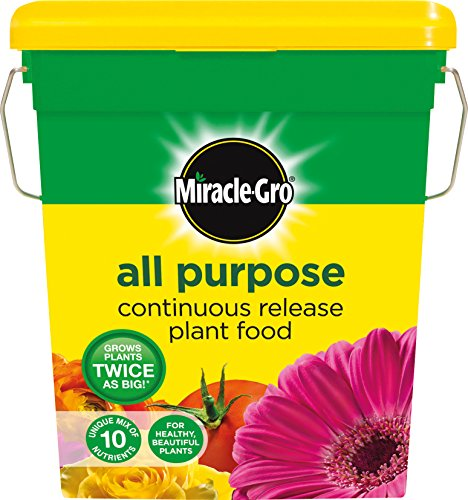 Miracle-Gro Continuous Release All Purpose Plant Food 1 kg Shaker Jar