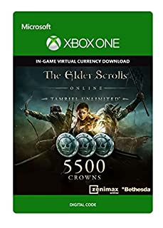 The Elder Scrolls Online: Tamriel Unlimited Edition: 5500 Crowns | Xbox One - Code jeu à télécharger (B079FHZ6F8) | Amazon price tracker / tracking, Amazon price history charts, Amazon price watches, Amazon price drop alerts